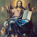Goblen - Iisus cu cartea