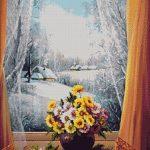 Goblen - Cu iarna in odaie
