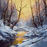 Goblen - Iarna in culori