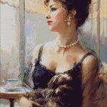 Goblen - Companie la o cafea