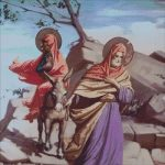 Goblen - Icoana Fuga in Egipt de la Icoana