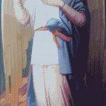 Goblen - Icoana Sfantului Arhanghel Gavriil de la Icoana