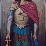 Goblen - Icoana Sfantului Arhanghel Mihail de la Icoana