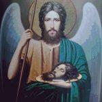 Goblen - Icoana Sfantului Ioan Botezatorul de la Icoana