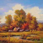 Goblen - La marginea toamnei
