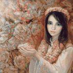 Goblen - Printre flori