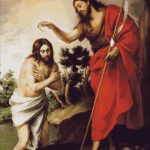 Goblen - Botezul Domnului Iisus Hristos