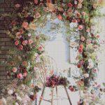 Goblen - Arcada de flori
