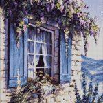 Goblen - Fereastra violet