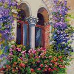 Goblen - Flori de exterior