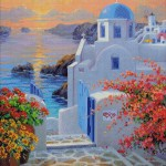 Goblen - Peisaj Grecia 2