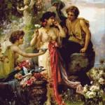 Goblen - Oferirea iubirii