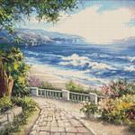 Goblen - Peisaj marin