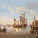 Goblen - Nave in port