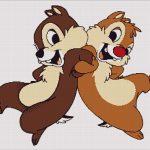 Goblen - Chip şi Dale