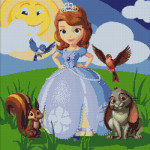 Goblen - Prinţesa Sofia