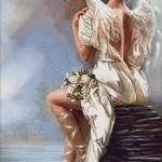 Goblen - Înger in alb