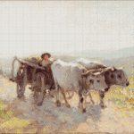 Goblen - Car cu boi 4
