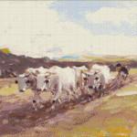 Goblen - Car cu boi 5