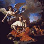 Goblen - Îngerul îi apare lui Agar şi Ismael