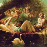 Goblen - Plimbare cu barca