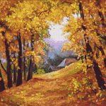 Goblen - Poveste de toamna